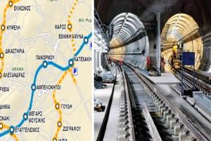 Μετρό: Αυτοί θα είναι οι 15 σταθμοί της Γραμμής 4 - Εισιτήριο από το κινητό για λεωφορεία, μετρό, ηλεκτρικό και τραμ