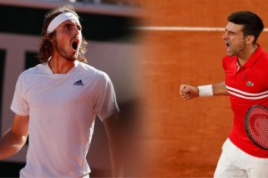 Τσιτσιπάς-Τζόκοβιτς: Η ώρα και το κανάλι του τελικού στο Roland Garros - «Χρυσάφι» για τον νικητή και η μεταξύ τους προϊστορία