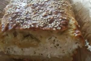 Τυρόπιτα κουρού με τυρί κρέμα