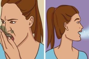 8 Φυσικοί τρόποι για να απαλλαγείτε από την άσχημη αναπνοή