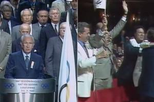 Όταν πήραμε τους Ολυμπιακούς Αγώνες του 2004! H αγκαλιά του Γιώργου Παπανδρέου με την Γιάννα Αγγελοπούλου