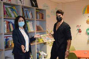 Ο Γιώργος Ασημακόπουλος συνεχίζει να προσφέρει… Στοργή στα παιδιά με καρκίνο!