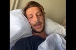 Ηλίας Μπόγδανος - Survivor: Το νέο μήνυμα μέσα από το νοσοκομείο