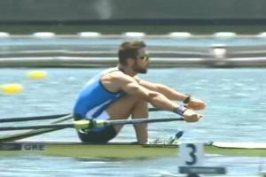 Ολυμπιακοί Αγώνες 2020: Στον τελικό του σκιφ στην κωπηλασία ο Ντούσκος, πρώτος στον ημιτελικό