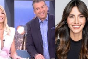 """Πρωινό ΑΝΤ1: Φαίη Σκορδά και Γιώργος Λιάγκας """"έκλεψαν"""" την Ηλιάνα Παπαγεωργίου!"""
