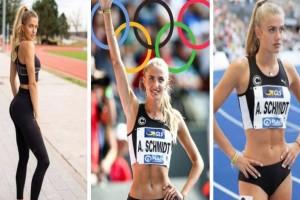 """Αλίσα Σμιντ: Η πιο καυτή αθλήτρια των Ολυμπιακών Αγώνων! Θα προκαλέσει """"εγκεφαλικά"""""""