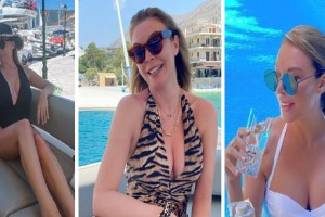 Τατιάνα Στεφανίδου: Ποζάρει με σέξι με λευκό μαγιό!