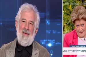 Βάσια Τριφύλλη: «Ο Πέτρος Φιλιππίδης είναι φίλος μου και τον αγαπώ» (Video)