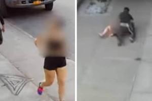 Βίντεο σοκ: Καρέ καρέ η σεξουαλική επίθεση άντρα σε 35χρονη στη μέση του δρόμου