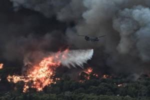 Απίστευτο: Ο λόγος που τα Canadair επιχειρούν τόσο αραιά στη Βαρυμπόμπη