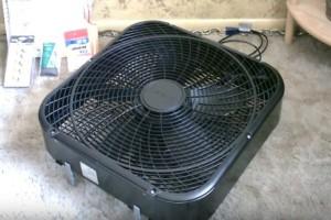 Απίστευτη πατέντα: Δείτε πώς θα μετατρέψετε τον ανεμιστήρα σας σε κλιματιστικό!