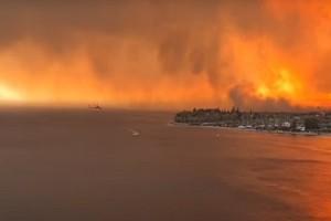 Φωτιά στην Εύβοια: Πόσοι οικισμοί έχουν εκκενωθεί συνολικά