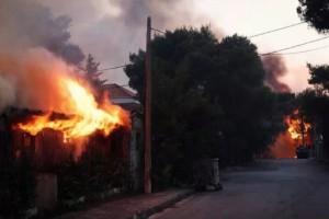 Φωτιά στη Βαρυμπόμπη – Γιάννης Καλλιάνος: Aύριο οι άνεμοι θα φτάσουν τα 8 μποφόρ!