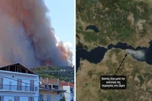 Φωτιά στην Αχαΐα: Εικόνες καταστροφής από τη Ζήρια - Που υπάρχουν ενεργά μέτωπα
