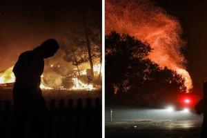 Φωτιά στη Βαρυμπόμπη: Νύχτα κόλαση, σηκώθηκαν τα εναέρια μέσα - Μεγάλη μάχη σε Κρυονέρι και ρέμα Χελιδονούς