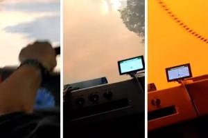 Ήρωες: Πυροσβέστες περνούν στην κυριολεξία μέσα από τις φλόγες για να σώσουν περιουσίες! (video)