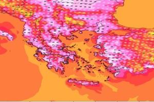 Καιρός - Καύσωνας: Ακραίες καιρικές συνθήκες μέχρι και την Πέμπτη - Στους 47°C θα σκαρφαλώσει το υδράργυρος - Φόβοι για διακοπή ρεύματος