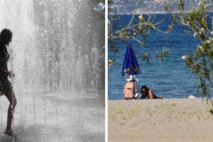 Καιρός σήμερα (02/08): Καίγεται όλη η χώρα! Μέχρι και 47 βαθμούς η θερμοκρασία, σπάει κάθε ρεκόρ!