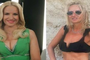 Η Μαρία Μπεκατώρου έχασε 11 κιλά και αναστατώνει ποζάροντας με ολόσωμο μαγιό - Δείτε ΦΩΤΟ
