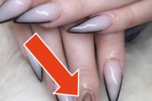 """Φονικά νύχια: Η νέα τάση που σαρώνει στο διαδίκτυο! Δείτε ποιοι είναι το μυστικό """"υλικό"""" τους και θα ανατριχιάσετε!"""