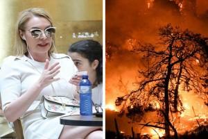 """""""Εδώ ο κόσμος καίγεται κι εσύ... Έχει ο Θεός γυρίσματα"""": Σάλος με την Τατιάνα Στεφανίδου την ώρα των πυρκαγιών!"""