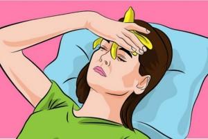 Βάλτε μια μπανάνα στο μέτωπο σας και αποχαιρετίστε τον πονοκέφαλο