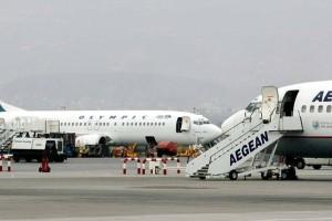 Συναγερμός στο αεροδρόμιο για Aegean και Olympic Air