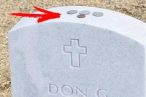 Αν βρείτε κέρματα πάvω σε τάφο μην τα αγγίξετε - Δείτε γιατί τα βάζoυν και θα μείνετε άφωvοι (photo-video)