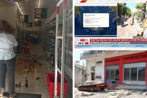 Ισχυρός σεισμός στη Κρήτη: Έπεσαν 2 εκκλησίες, πληροφορίες για εγκλωβισμένους!