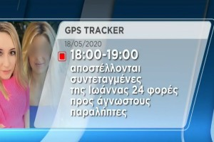 Επίθεση με βιτριόλι: Φωτογραφία - ντοκουμέντο απ' την παρακολούθηση της Ιωάννας μέσω συσκευής εντοπισμού - Οι ανατριχιαστικές αναζητήσεις της 36χρονης