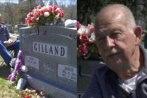 78χρονος παππούς πηγαίνει κάθε μέρα στον τάφο της γυναίκας του, τα τελευταία 7 χρόνια