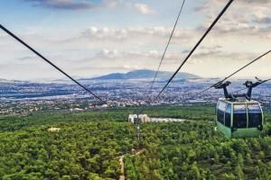 Η φωτογραφία της ημέρας: Όλη η Αθήνα από... τη θέα της Πάρνηθας
