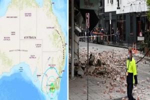 Αυστραλία: Ισχυρός σεισμός 5,8 Ρίχτερ - Βίντεο από τη στιγμή της δόνησης
