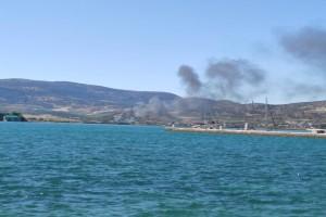 Βόλος: Ξέσπασε φωτιά σε σκάφος στα Πευκάκια