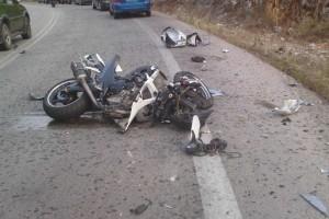 Θανατηφόρο τροχαίο στην Ιεράπετρα - Μηχανή συγκρούστηκε με αυτοκίνητο