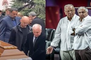 Ραγίζουν και τα τσιμέντα: Ο Ομπράντοβιτς κουβάλει το φέρετρο του Ίβκοβιτς στη κηδεία του! (video)