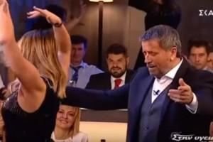 """Το αμαρτωλό τσιφτετέλι πασίγνωστης τραγουδίστριας στην αγκαλιά του Σπύρου Παπαδόπουλου που """"γκρέμισε"""" το διαδίκτυο!"""