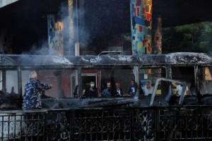 Βομβιστική επίθεση σε στρατιωτικό λεωφορείο στη Δαμασκό - Στους 14 οι νεκροί