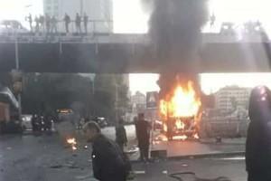 Έκρηξη σε λεωφορείο στη Δαμασκό – Αρκετοί νεκροί και τραυματίες