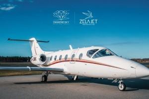 Στρατηγική συμφωνία Zela Jet και Diamond Sky