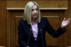 Φώφη Γεννηματά: Αυτή θα πάρει την έδρα της στη Βουλή (photo)