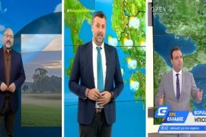 Καιρός σήμερα 19/10: Νέες καταιγίδες! Σε ποιες περιοχές θα βρέξει - «Καμπανάκι» Αρναούτογλου, Καλλιάνου και Μαρουσάκη (Video)