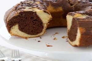 Εύκολο κέικ εμπριμέ με σοκολάτα - Πώς να κάνετε το σχέδιο
