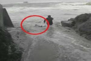 Ήθελαν να βγάλουν μια φωτογραφία στη θάλασσα αλλά τα κύματα ΔΥΣΤΥΧΩΣ είχαν αλλα σχέδια!