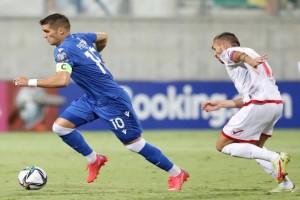 Κύπρος-Μάλτα 2-2: «Ψυχρολουσία» στο 90+8′