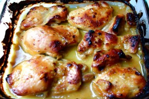 Κοτόπουλο μουσταρδάτο έτοιμο σε 5 λεπτά!