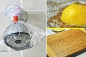Πήρε νερό, ξύδι και λεμόνι για να καθαρίσει το πάτωμα - Δεν πίστευε στο αποτέλεσμα