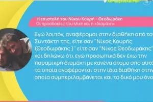 Μίκης Θεοδωράκης: Επιστολή «βόμβα» του Νίκου Κουρή μετά το άνοιγμα της διαθήκης - «Δεν διεκδικώ περιουσιακά στοιχεία»
