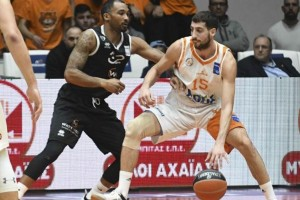 Basket League: Προμηθέας - ΠΑΟΚ 84-77: Φτιάχνουν σερί οι Πατρινοί