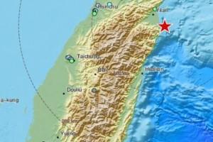 Ισχυρός σεισμός 6,2 Ρίχτερ στην Ταϊβάν